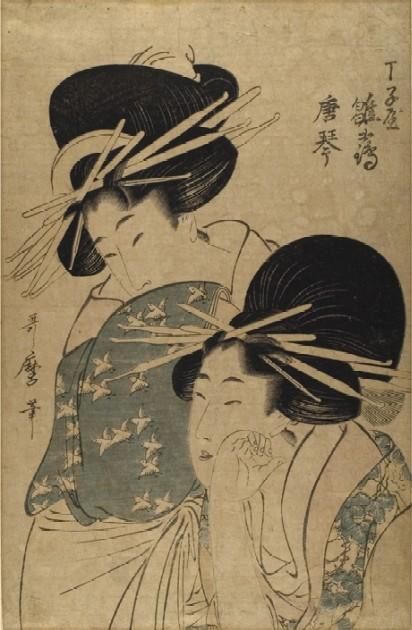 Representation of Women and Femininity in Japanese Woodblock