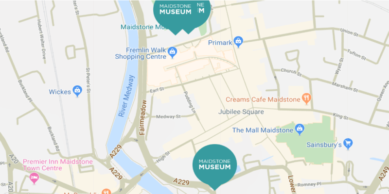 Contact us - Maidstone Museum